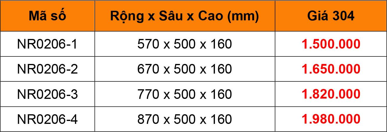 Bảng giá Rổ xoong nồi bắt mặt hộc inox 304 Niran NR0206