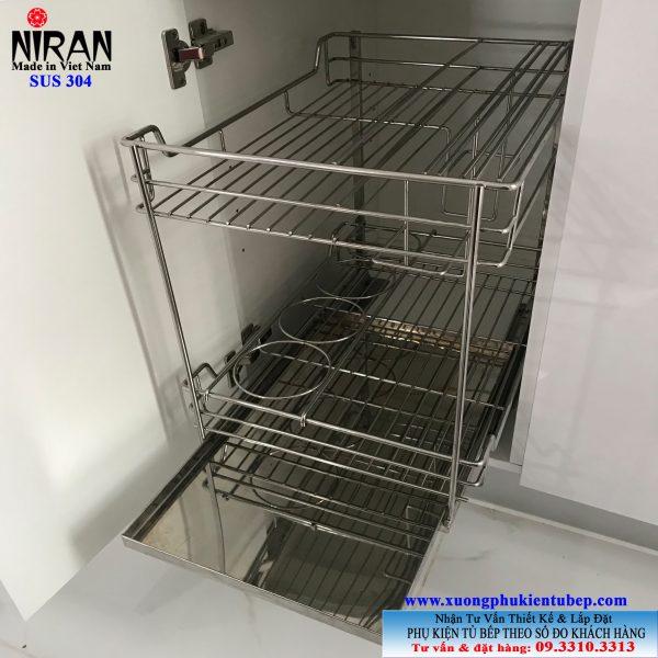 Kệ gia vị Niran inox 304 NR0305