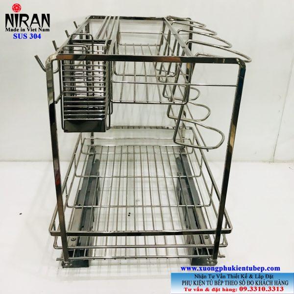 Kệ gia vị Niran inox 304 NR0303