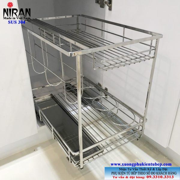 Kệ gia vị Niran inox 304 NR0302