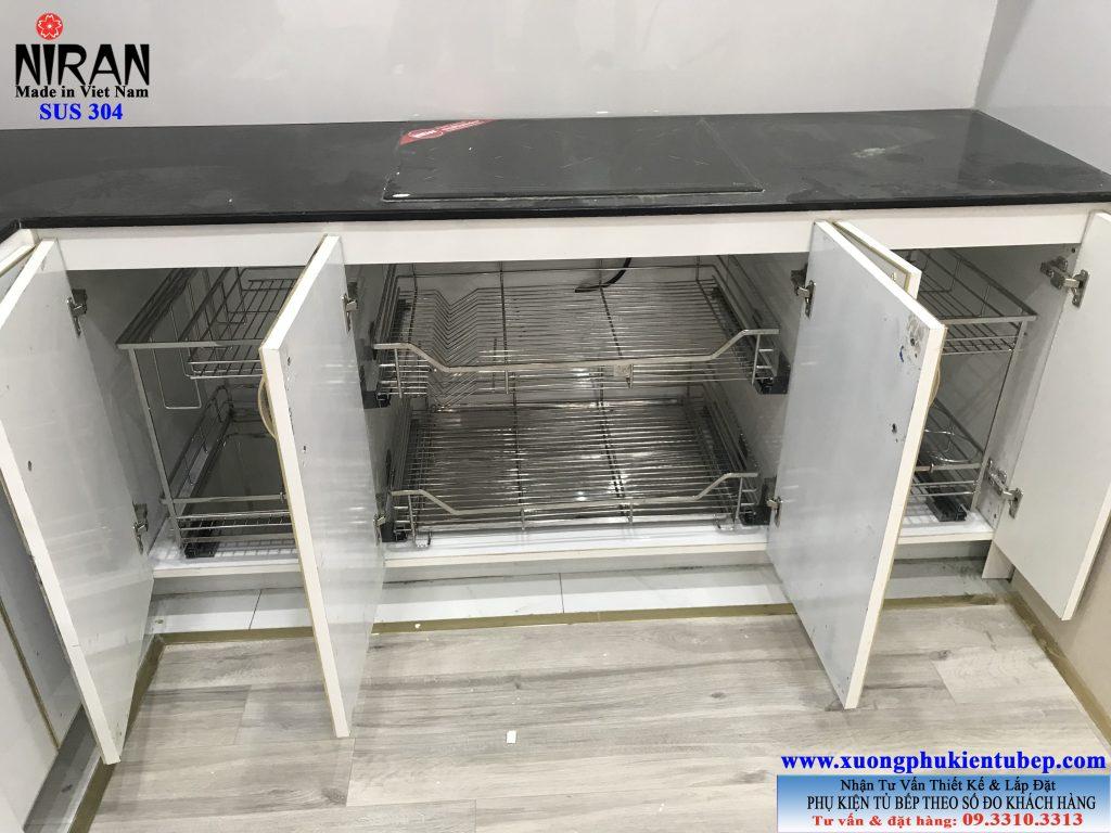 Phụ kiện tủ bếp inox 304 Niran CC Richstar Residence