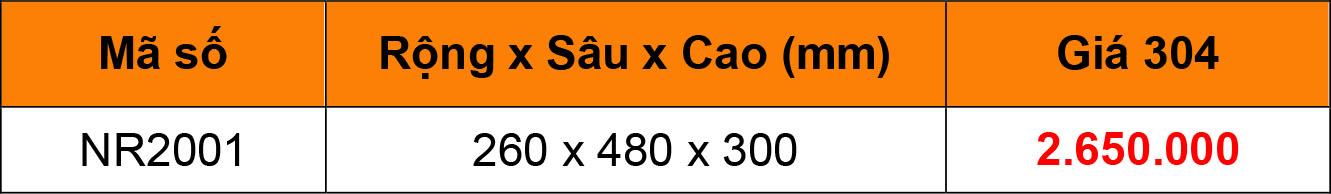 Bảng giá Kệ để dao thớt đa năng inox 304 Niran NR2001
