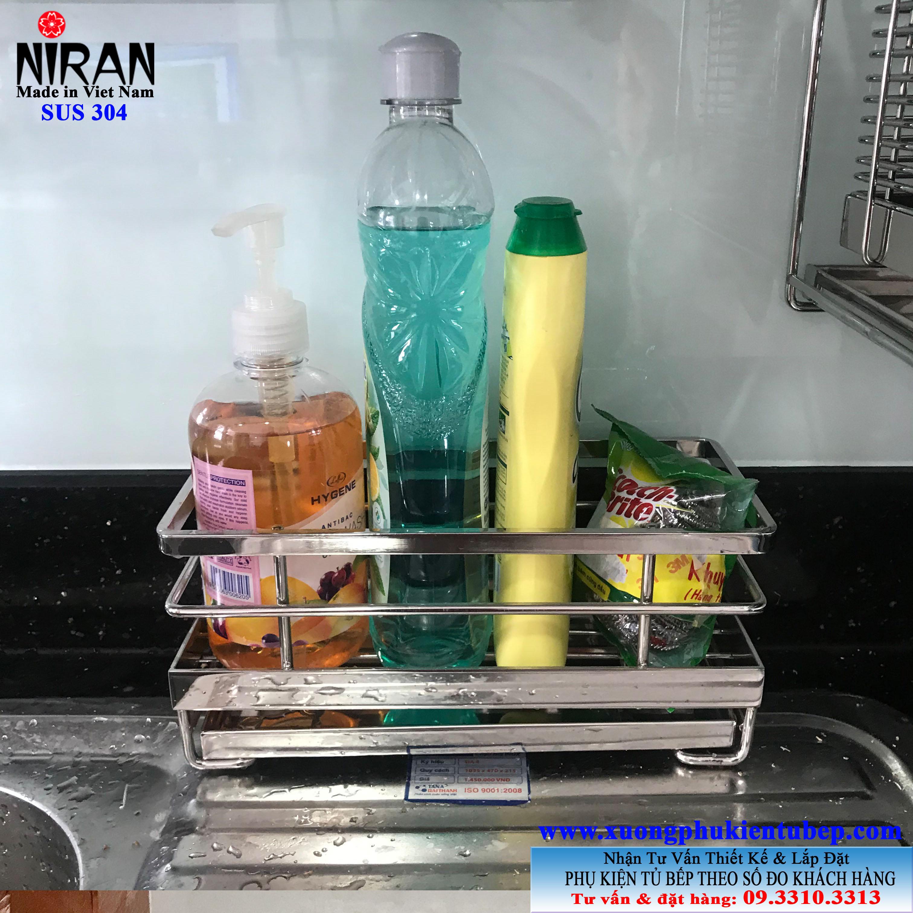Kệ để nước rửa chén inox 304