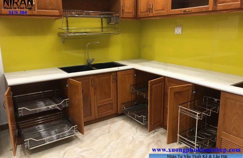 Phụ kiện tủ bếp cần thiết cho bếp