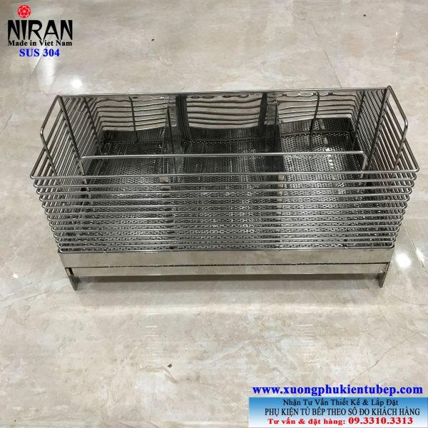 ống đũa vuông để bàn inox 304 NR3008