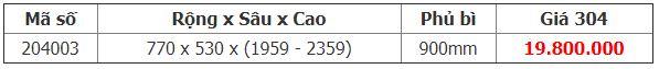 Bảng giá Kệ kéo 36 rổ tủ inox 304 - Higold ( 204003 )