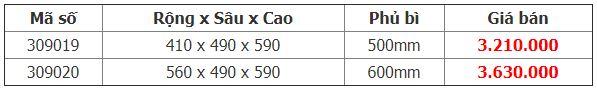 Bảng giá Kệ thực phẩm 4 rổ tủ dưới Diamond Crom – Higold (309019, 309020)