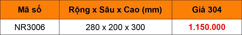 Bảng giá Kệ dao thớt treo inox 304 NR3006