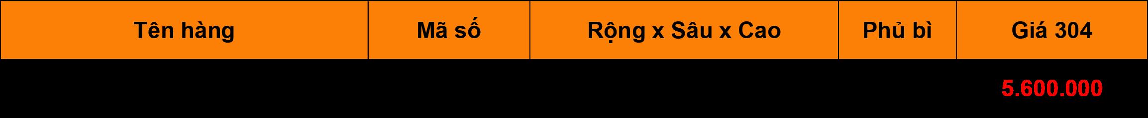 Bảng giá Kệ tủ đồ khô 4 tầng inox 304 Niran NR0404
