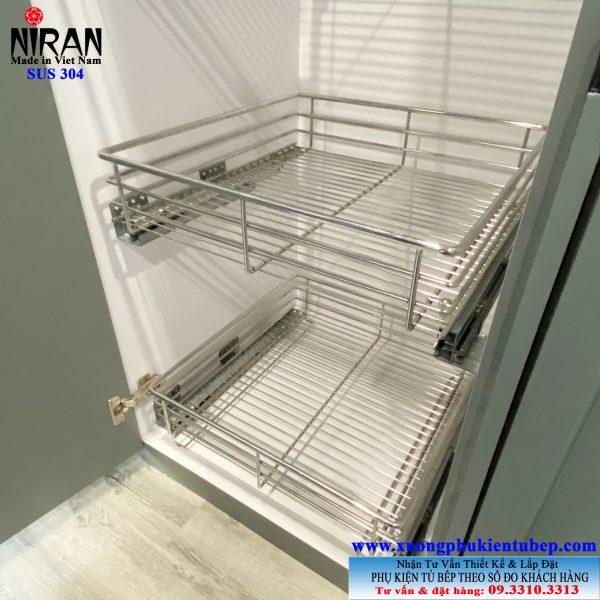 Tủ đựng đồ khô inox 304